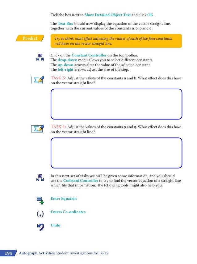 S7 investigating vectors student worksheet colour – Vectors Worksheet