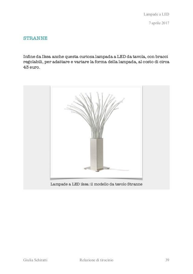 Lampade Da Tavolo Ikea Modello Tertial : Il futuro dell illuminazione ecosostenibile è nel led