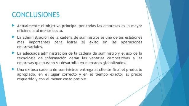 REFERENCIAS  http://es.wikipedia.org/wiki/Cadena_de_suministro#Caracter.C3.ADsticas_de_la_Cadena_de_suministro  http://w...
