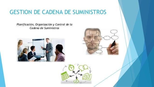 GESTION DE CADENA DE SUMINISTROS Planificación, Organización y Control de la Cadena de Suministros