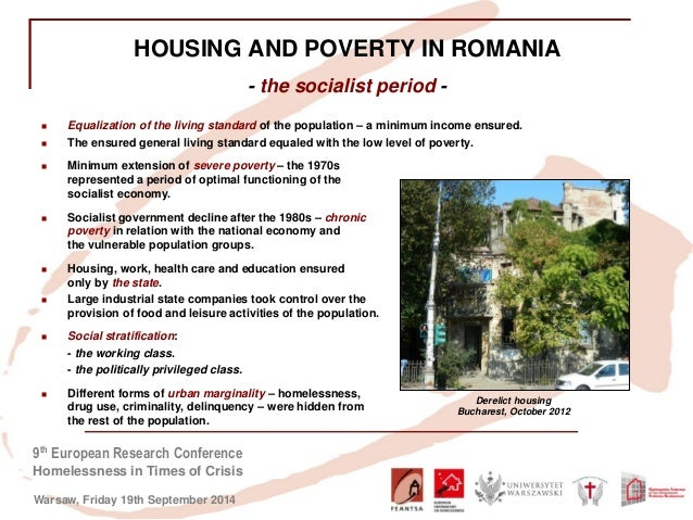 Housing Exclusion and Homelessness in Times of Economic Crisis in Rom…