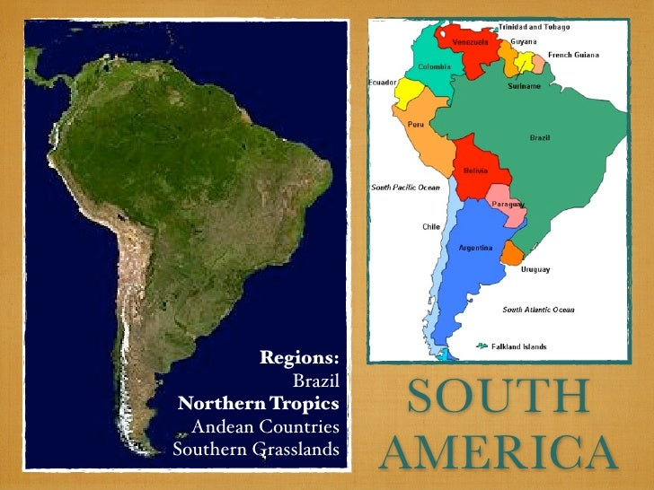 Regions:                       SOUTH             BrazilNorthern Tropics  Andean CountriesSouthern Grasslands              ...