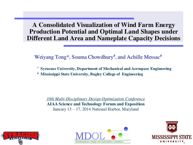 A Consolidated Visualization of Wind Farm Energy Production Potential and Optimal Land Shapes under Different Land Area an...