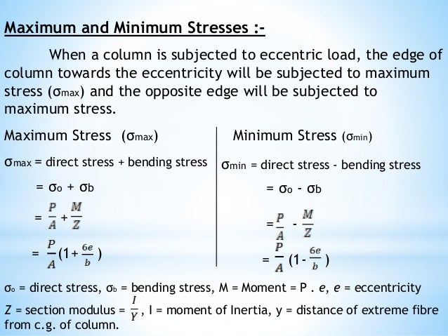 Sa1 08-direct-and-bending-stress