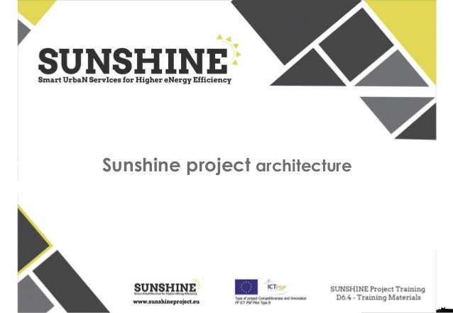 Sunshine project architecture