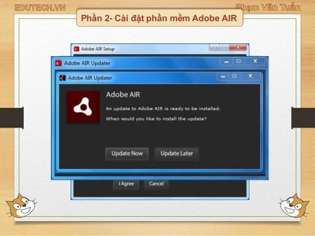Phần 2- Cài đặt phần mềm Adobe AIR ...