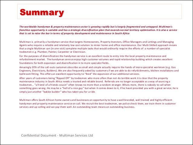 Handyman Business Plan Uk] Handyman Business Plan Uk Handyman ...