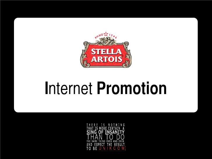 Internet Promotion