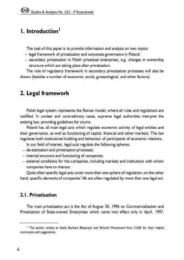 legal framework essay This paper will discuss two scenarios: firstly, whether the plaintiff (mary) has an actionable case for which she can sue the defendant in relation to injury suffered by her following the use of a free sample of the defendants bath salts, in accordance with the instructions on the packet.