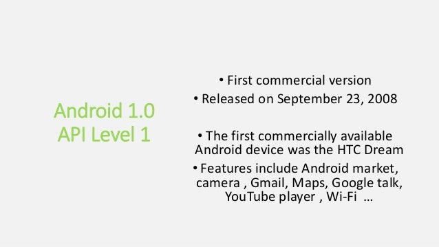 The Android Story - versions and history