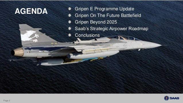 Saab Gripen Update Farnborough July 15