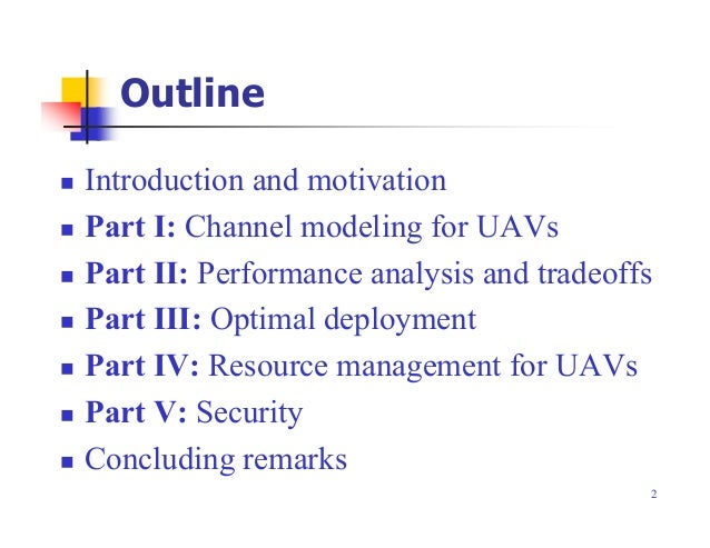 Tutorial on Wireless Communications and Networking with Drones and Unmanned Aerial Vehicles (UAVs) Slide 2