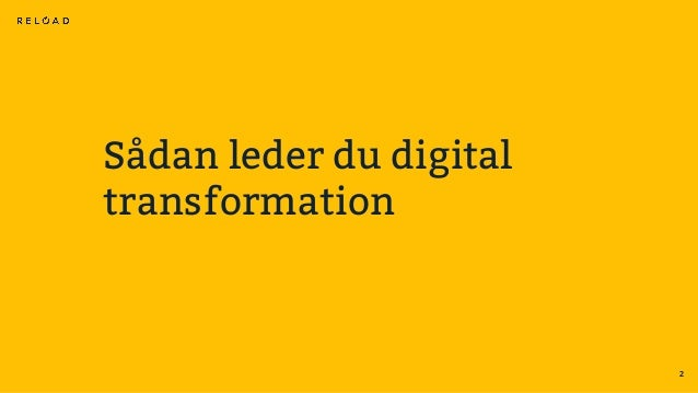 Sådan leder du digital transformation Slide 2