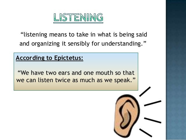 the importance of active listening a critical method of listening and communicating Top 20 best books on communication and listening active listening 101: you will discover a precise yet simple and enjoyable method of learning to.