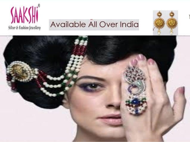 Saakshi jewellery silver jewellery online india east india for East indian jewelry online