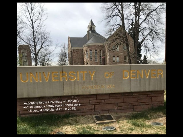 DU was one of 55 universities who were investigated in 2014 by the federal government under Title IX for possible miscondu...