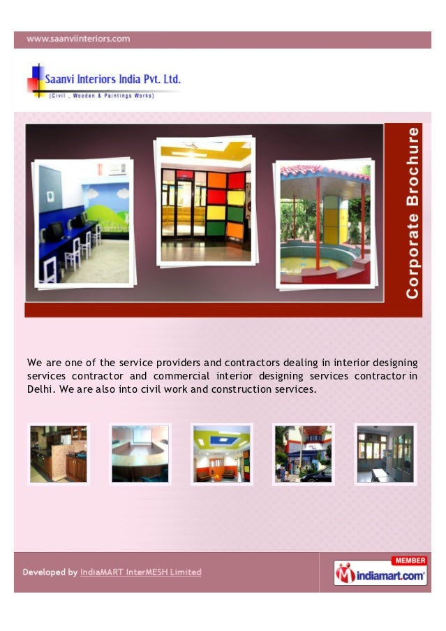 We are one of the service providers and contractors dealing in interior designingservices contractor and commercial interi...