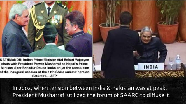 role of pakistan in saarc Since its creation in december 1985, the south asian association for regional cooperation (saarc) has sought to increase economic unity between india, pakistan.