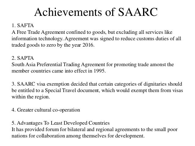 saarc impacts on pakistan Energy trade in south asia opportunities and challenges  south asian association for regional cooperation  and minimize adverse impacts from.