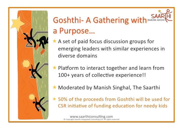 Goshthi Slide 2
