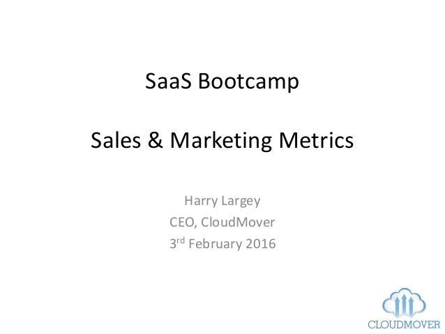 saas marketing for ceos Reflections on being ceo of a saas business through year 4 and 5,  we set  out to drastically scale our sales, marketing and customer.