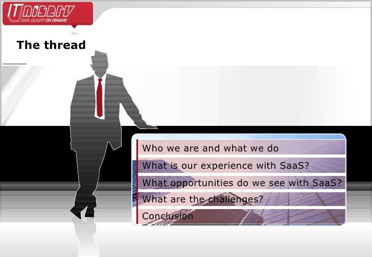 SaaS – A risk or opportunity for software vendors? Slide 3