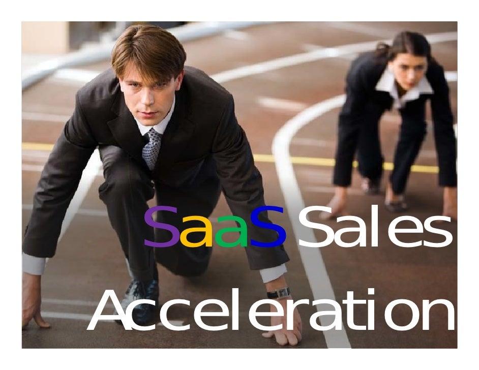 SaaS Sales Acceleration