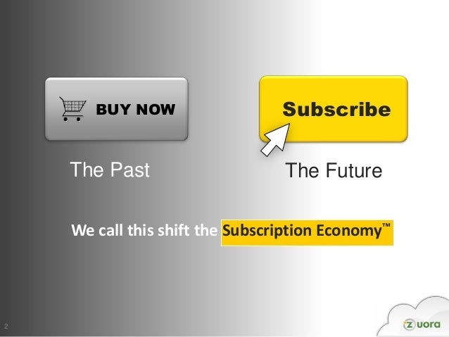 BUY NOW                   Subscribe    The Past                     The Future    We call this shift the Subscription Econ...