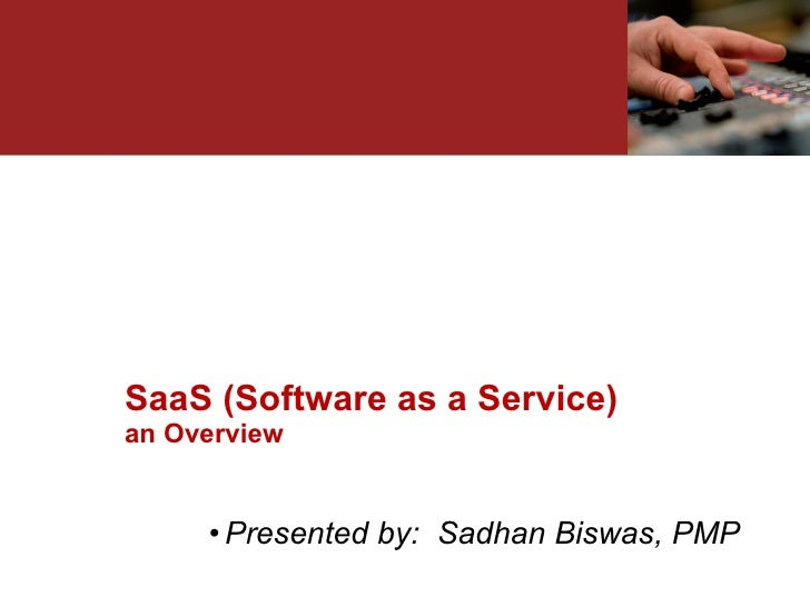 Overview of SaaS