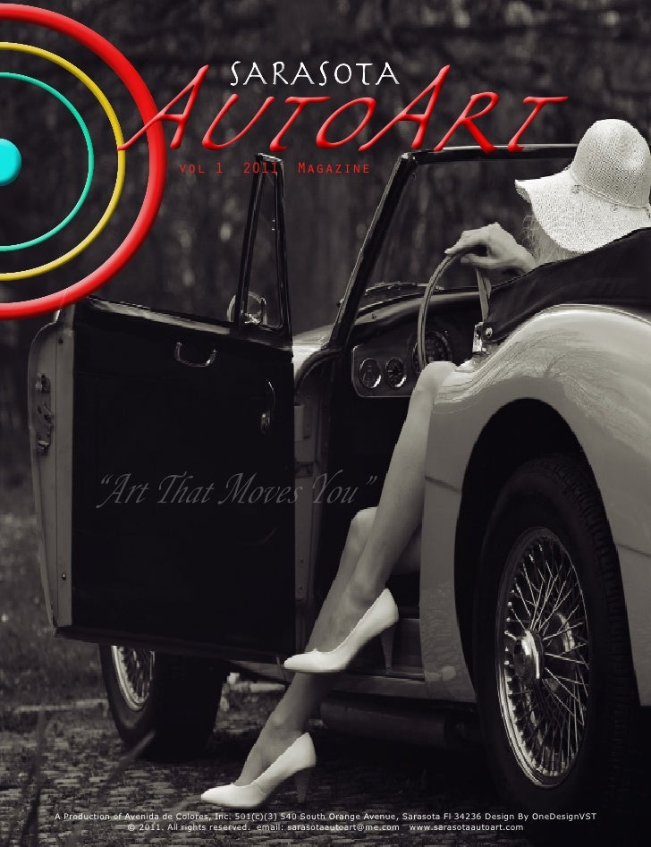 AutoArt       vol 1                                    SARASOTA                                        2011       Magazine...