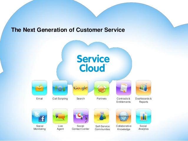 Salesforce service & marketing cloud