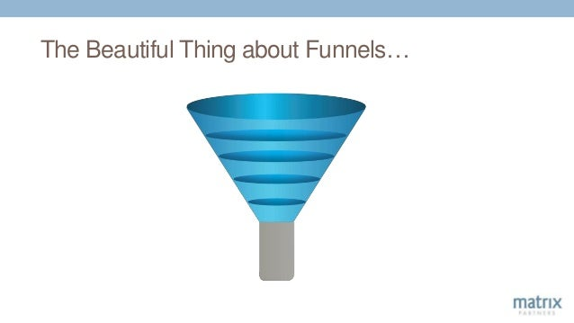 The Beautiful Thing about Funnels…