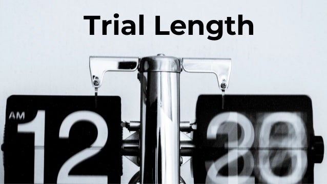 14 Day Trials Most Common; 30+ Days Second Most 47% of Respondents With Time Limited Trials Cap Trial Length at 14 Days
