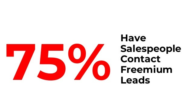 For good reason: Salespeople increase conversion 3x 15% of Assisted Leads Convert to Customers for the Median Respondent