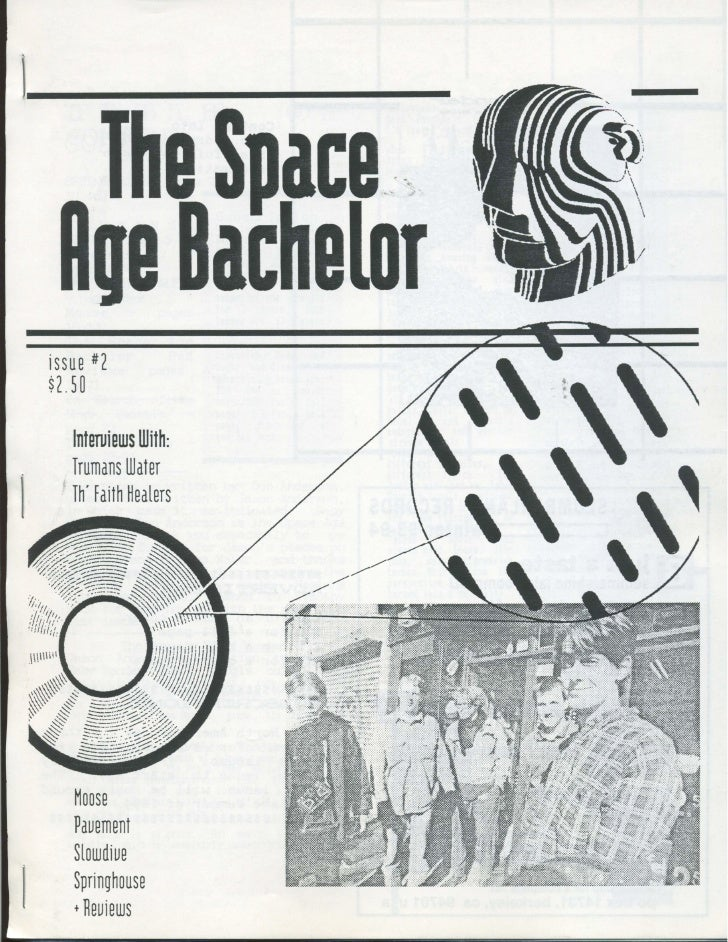 Space Age Bachelor - Issue #2 - 1994 Spring