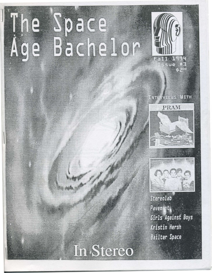 Space Age Bachelor - Issue #3 - 1994 September