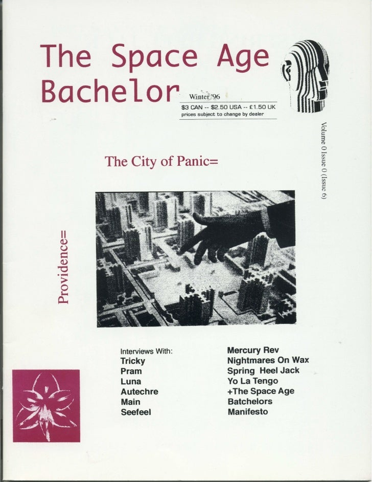 Space Age Bachelor - Issue 6  - 1996 end