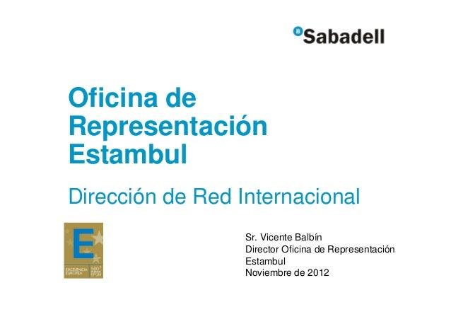 Sabadell datos construccion turquia 2001 2012 for Oficina correos sabadell