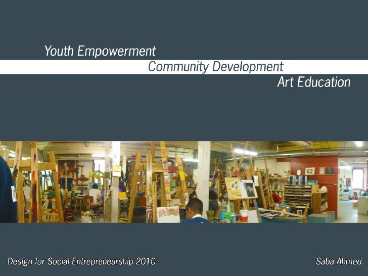 Youth Empowerment through Art and Design