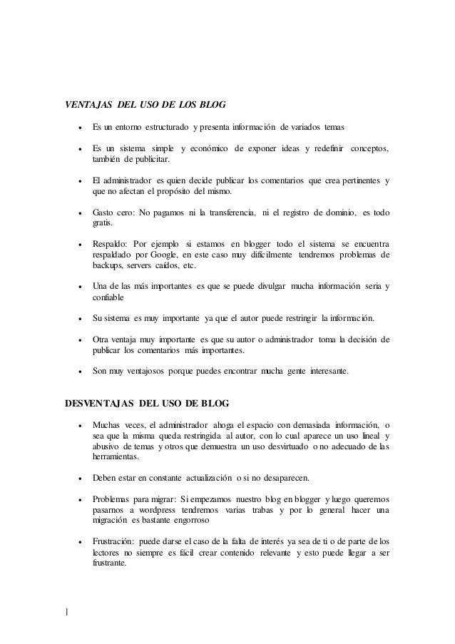 CARACTERISTICAS DE BLOG Y WIKI