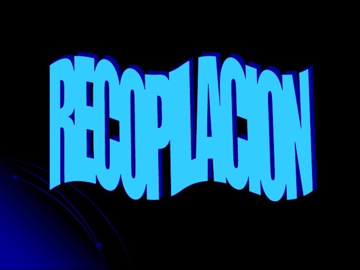 RECOPILACION<br />