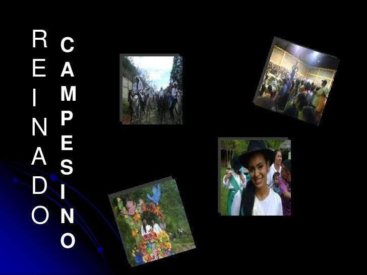 REINADO<br />CAMPESINO<br />