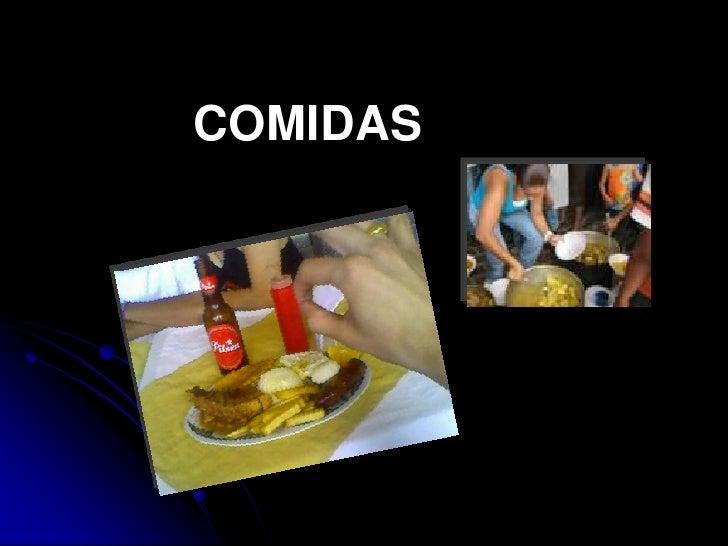 COMIDAS<br />