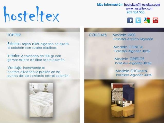 Ropa de cama para hosteler a y restauraci n textil hosteltex teje - Ropa de cama para hosteleria ...