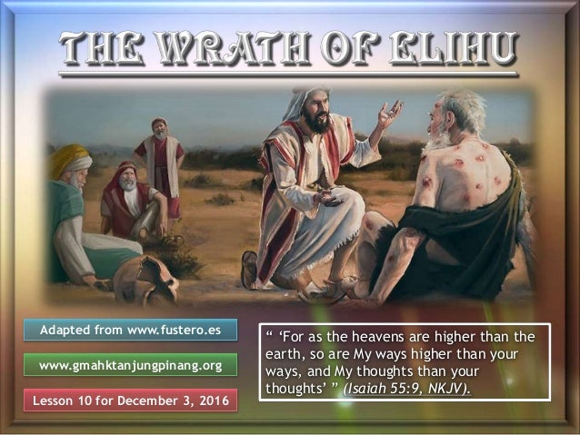 """Lesson 10 for December 3, 2016 Adapted from www.fustero.es www.gmahktanjungpinang.org """" 'For as the heavens are higher tha..."""