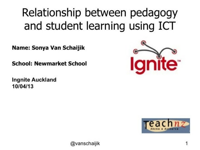 Relationship of Pedagogy and ICT