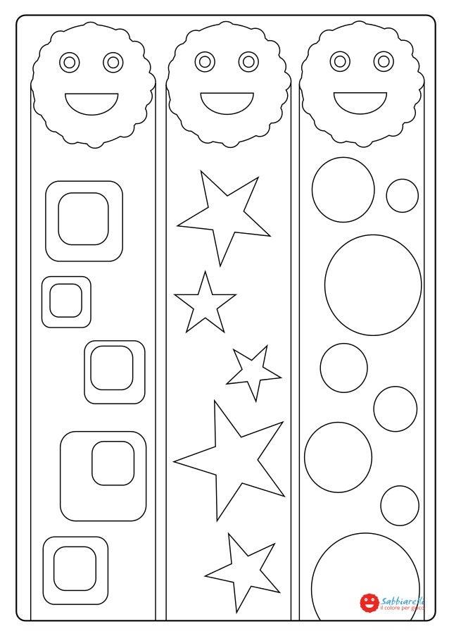 I nsegnalibri di sabby disegni da colorare sabbiarelli for Disegni di lupi da stampare