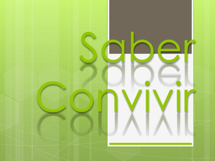 SaberConvivir