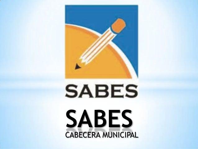 SABESCABECERA MUNICIPAL
