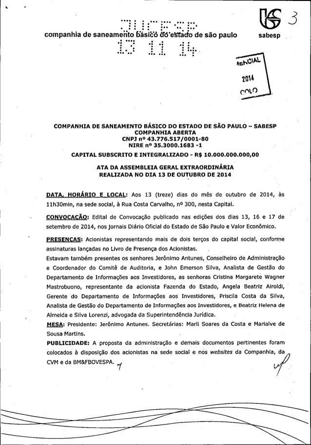 .___. ... -«   companhia de saneameiíto Hásíëó ãtïeståcfo de são paulo sbep     COMPANHIA DE SANEAMENTO BASICO DO ESTADO D...